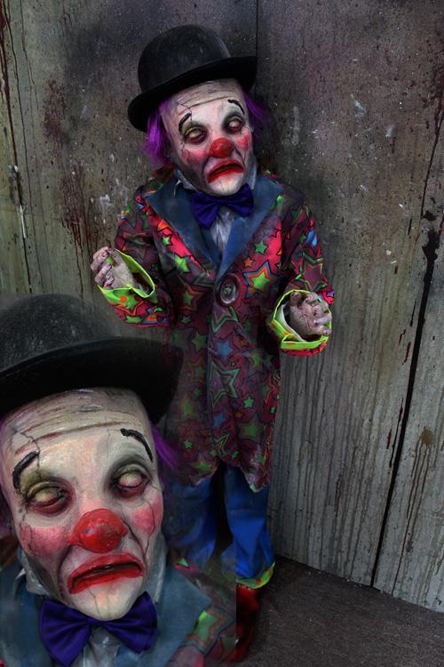New 2019 Halloween Prop Little Big Head Doll