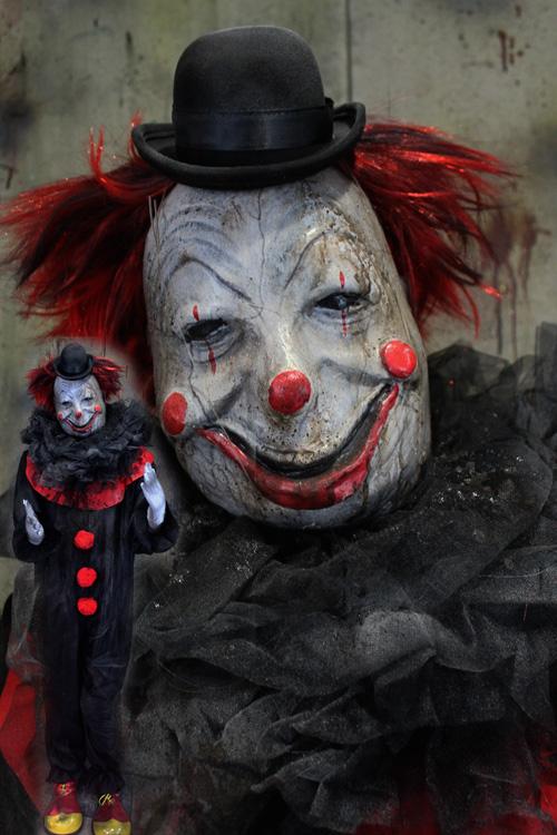New 2019 Halloween Prop Life size Clown Doll 1