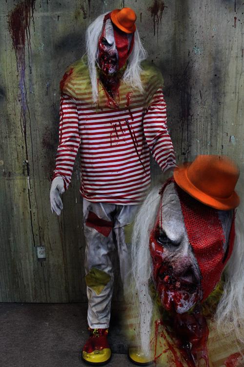 New 2019 Halloween Prop Mutant Hills clown Prop 1
