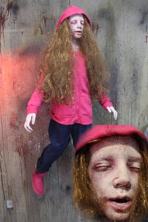New 2019 Halloween Prop Deluxe Floating Kid Girl