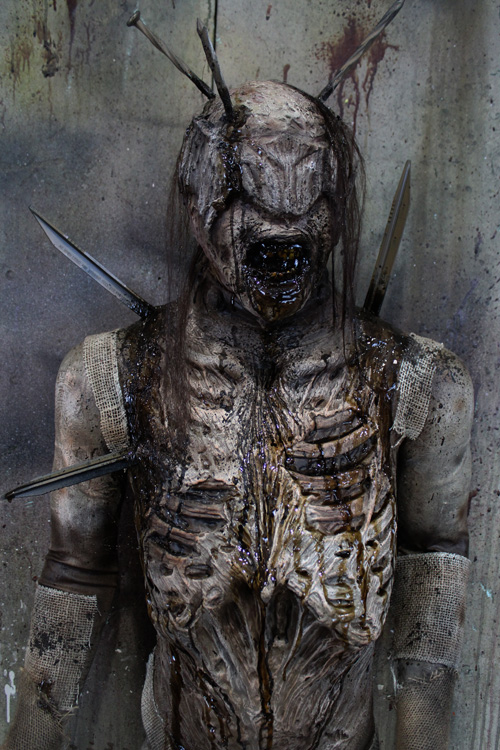 New 2019 Halloween Haunted House Prop Hell Zombie Male