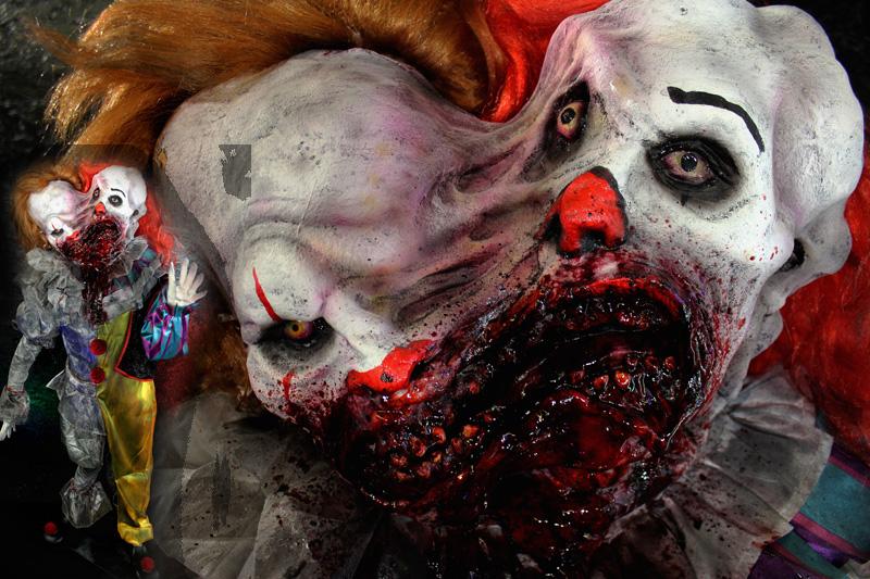 New 2020 Halloween prop Evolution Of Evil clown