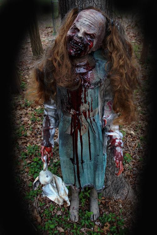 New 2020 Halloween prop UNdead Darla Zombie Girl