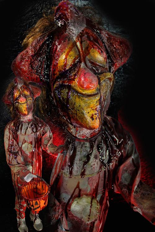 Trick or Treat Halloween Prop Clown Kid 1