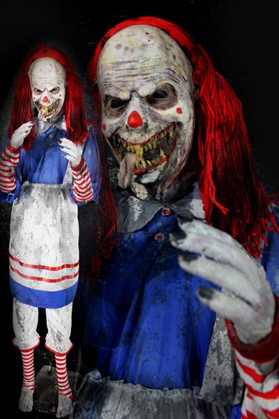 New 2021 Ragged Raichel Demonic Doll  Halloween prop