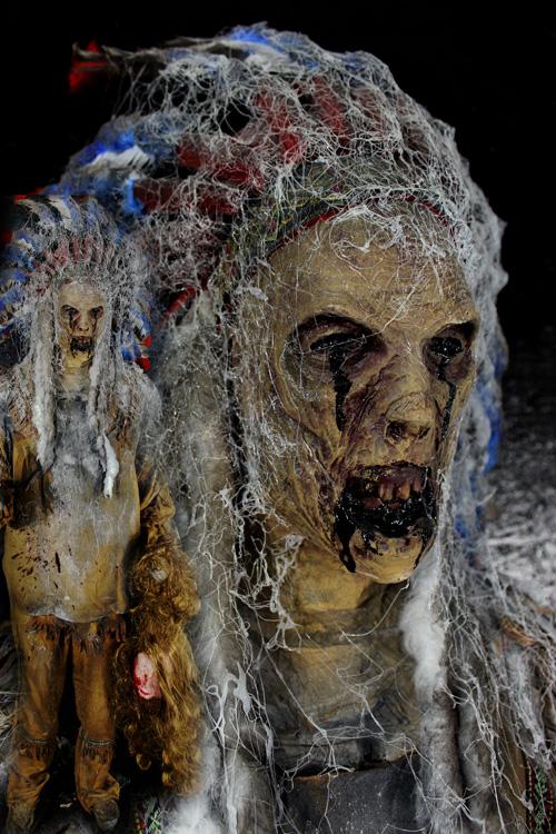 New 2021 Angry Apache Halloween prop