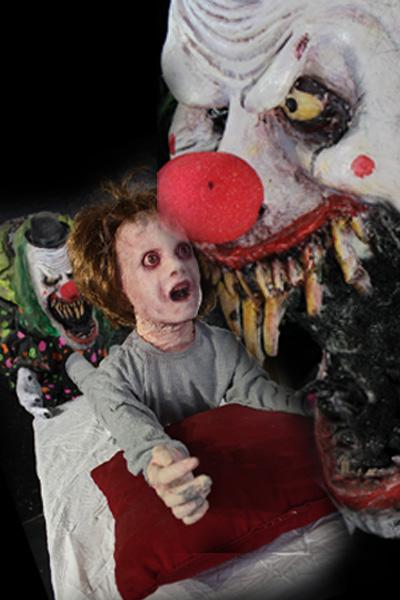 New 2021 The  Nightmare Clown Halloween prop