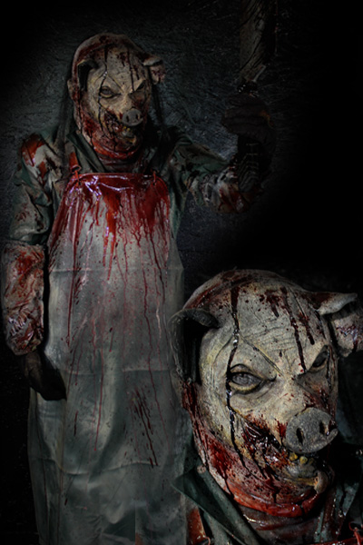 New 2021 Pig Rot Faced Butcher Prop